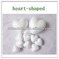 coeur en forme de couronne pour la décoration en polystyrène