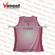 freight included custom running singlet garment