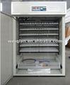 Wq-1056 ovo de codorna incubação de temperatura