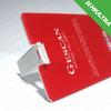 Printing Plastic Credit Card USB Flash Drive