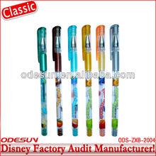 Disney factory audit manufacturer' rotomac gel pens 143894