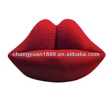 Fashion desing new product hot sale high quality inflatable flocked funny bean bag chairs