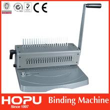cinch pipe eliptic perfect binding apparatus