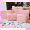 Portable Nylon 5pcs/set Traveling Packing Cubes Clothes Underwear Organizer Storage Bag in Bag Wholesale