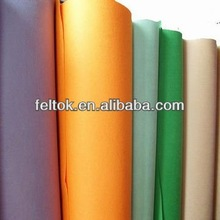 nonwoven wool and rayon mixed felt