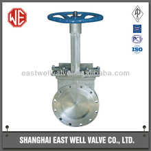 East Well CS knife gate valve, Manual operated knife gate valve, Professional Leading Manufacturer in Shanghai