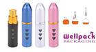 5ML Travel Aluminum Refillable Perfume Atomizer Sparybottle