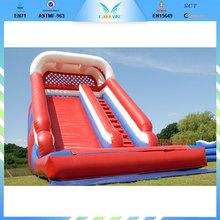 inflatable toboggan slide BY-WS034