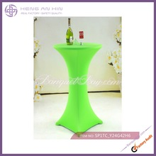 bright green cocktail table spandex covers bar table cover wholesale
