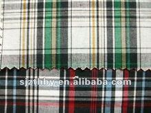 wholesale china girls plaid shirts fabric