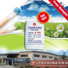 dioxido de titanio anatase A101 shanghai yuejiang Titanium chem supplier and manufacturer