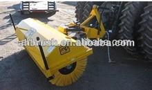 black nylon wire sweep machine brush/ hard Nylon Brush/ gas powered snow sweeper
