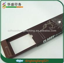 Custom luxury elegant hair extension drawer box for virgin hair