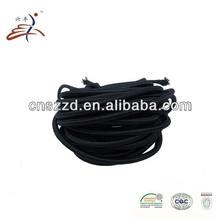 black elastic string rubber string