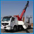 8x4 howo schwere kran-rotator abschleppwagen, wrecker lkw, große abschleppwagen lkw