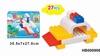 educational toys car building block 27 pcs plastic toy city bus