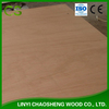 Red Cedar Wood Plywood Poplar Core E1 Glue