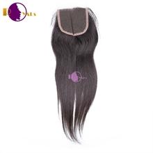 Wholesale cheap full ends virgin human hair mongolian hair lace closure