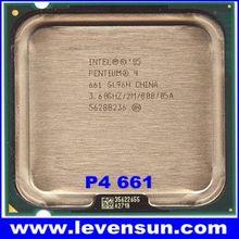Used pull clean intel cpu pentium 4 P4 661 3.6GHz 2MB SL94V SL96H SL8WF SL9KD
