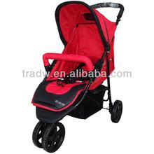 3 ruote di moda e sicurezza baby stroller vendita con en1888
