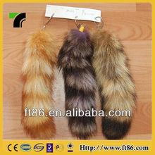 2014 hot sale fashion life-like soft lovely beautiful fox tails wholesale