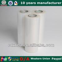 500mm X 20 Micron Clear LLDPE Stretch Film XX