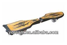 hot selling snake board,2 wheels vigor board,wave board skateboard