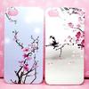 flower design hard phone case for iphone 5s 5g