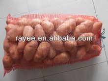 small plastic mesh bag&knitted plastic mesh bag roll&orange mesh plastic bag cheap/ Bolsa de malla PE