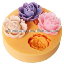 Food grade flower silicone baking moulds sugar crafts cake decoration F0101