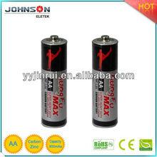 Hotsale r6 carbon zinc battery
