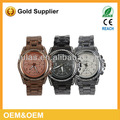 china 2014 réplica relógio da senhora voga assistir mk genebra relógio de quartzo presente da promoção