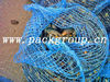 Blue PE netting bags for mussel, oyster