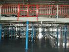 Industrial cargo and storage steel platforms