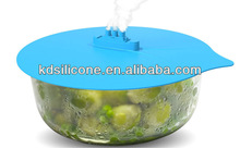 Eco Silicone Steamer Lid, Steamer Lid For Spill Stopper, Silicone Fresh Pot Cover Lid