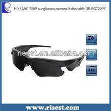 SG100 Waterproof HD Eyeglasses Hidden Camera for Beach Recording