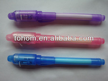 cheap price plastic&metal magic uv light pen