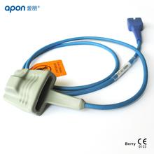 fingertip finger clip wrap ear clip made from Berry All kinds of Nellcor spo2 sensor