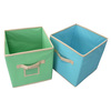 Fabric storage cube /folding storage bin