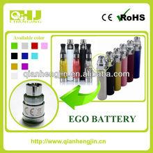 2014 vendita calda batteria sigaretta elettronica ego con 10 diversi colori