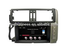 Car Audio DVD For Toyota Prado 2012 With Multimedia GPS Navigation Headunit Touch Screen Good Quality Auto-Radio