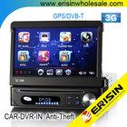 "ES7098EN 7"" 1 Din HD Car DVD/USB/SD Player 3G WCDMA Sat Nav IPOD DVB-T DVR-IN"