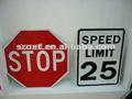 مخصص-- صنع البلاستيك المطبوع علامات الطريق، علامة السلامة على الطرق، الإعلان عن علامات الطريق