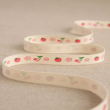Stylish design and high quality printed cotton woven webbing
