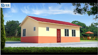 Well design color steel sandwich panel china prefab homes