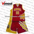 Camiseta del uniforme del baloncesto del diseño