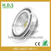 HDS ar111 gu10 g53 850lm 2700k 10w led dimmable gu10 es111 led