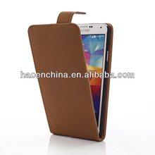 custom leather case for samsung galaxy s5 i9600, Classic leather flip case cover for Samsung galaxy s5