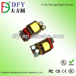 good quality isolated internal LED driver for bulb 3w,6w ,7w, 10w with 3 years warranty SAA &Rohs,CE approved