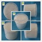 100P round PP box bamboo cotton buds